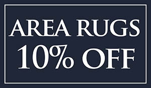 10% off area rugs this month at Brothers Flooring!