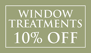 10% off Window Treatments this month at Brothers Flooring!